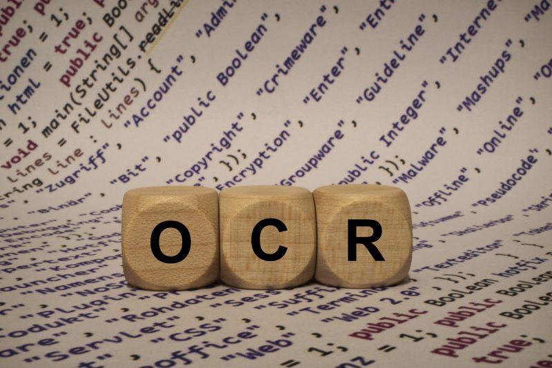 OCR Cubes